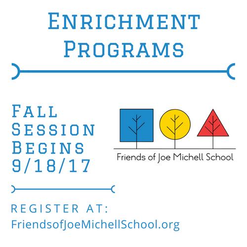 Fall 2017 Enrichment Classes